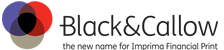 Black and Callow logo