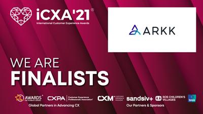 ARKK ICXA21 Awards finalists