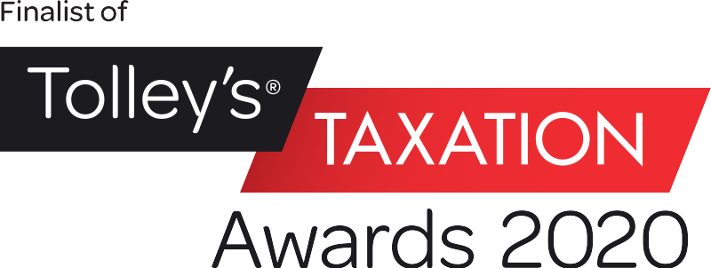 Finalist of Tolley's Taxation Award 2020