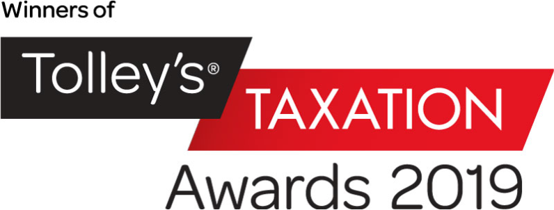 Winners of Tolley's Taxation Awards 2019